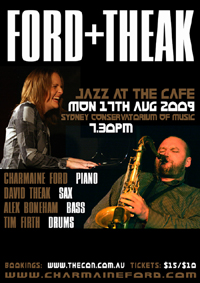 Ford + Theak Poster Aug 17th